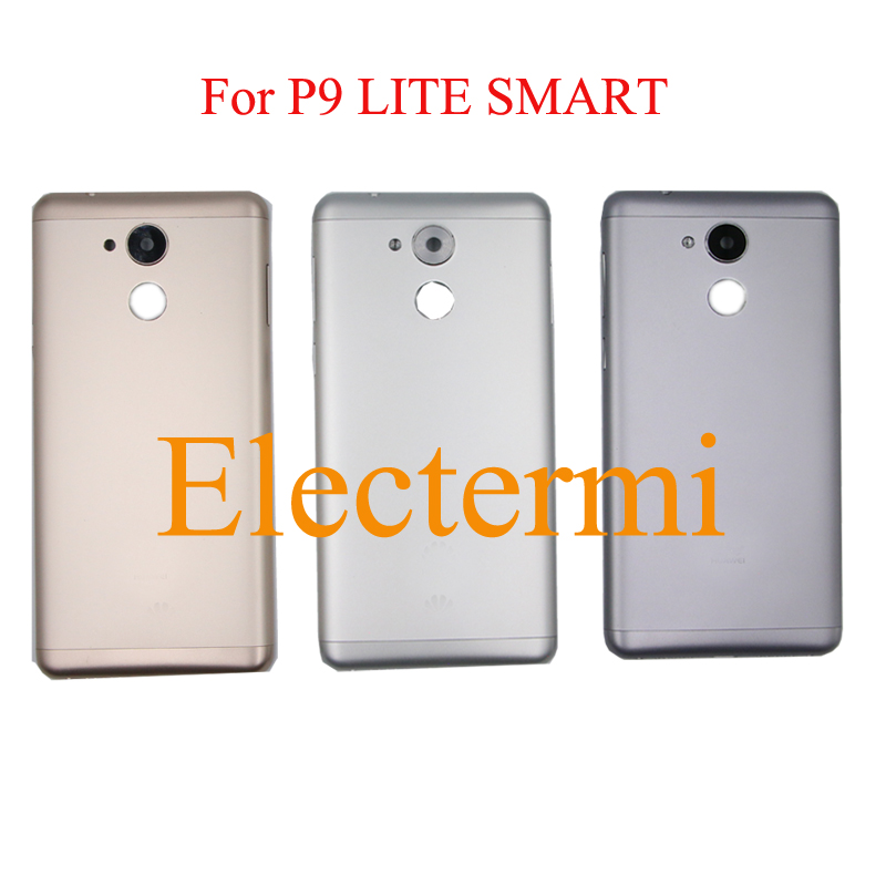 10pcs Free Shipping High Quality P9 LITE SMART Battery Rear Housing Tapa Cover For HUAWEI P9
