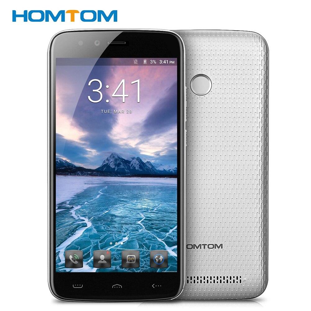 Original HOMTOM HT50 5 5 2 5D 5500mAh 4G Smartphone 3GB 32GB MT6737 Quad Core Dual