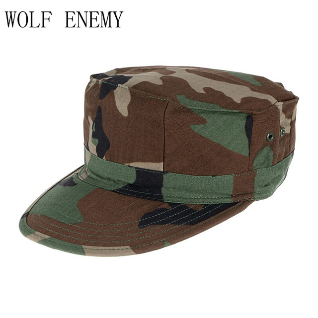 11bdd7921fb ACU CP Desert Woodland Digital Multicam Military Caps Army Camouflage  Marines Hats Sun Fishing Tactical Combat
