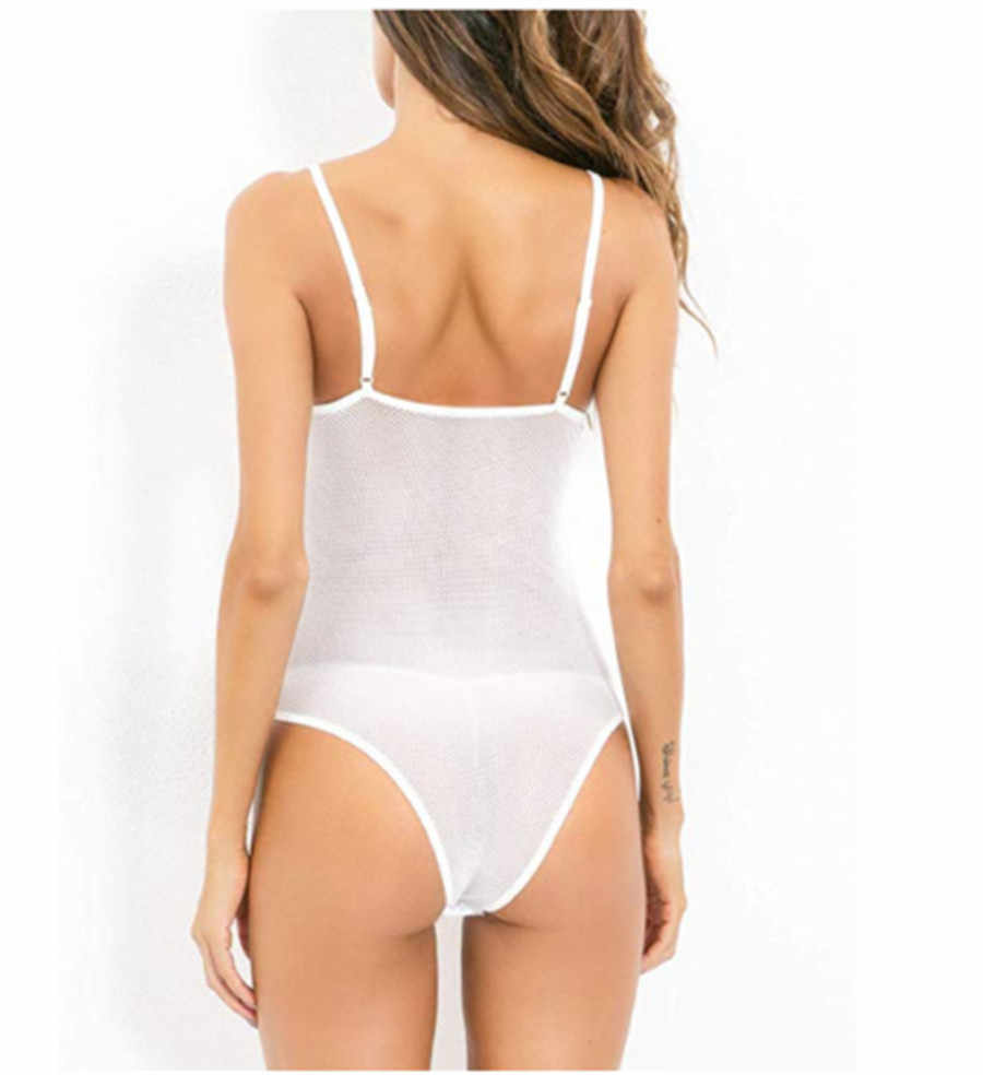 2019 חדש לגמרי גבירותיי סקסי נשים גבירותיי ארוטית שרוכים מוצק Nightwear מקורבי הלבשת מכירה לוהטת בגד גוף
