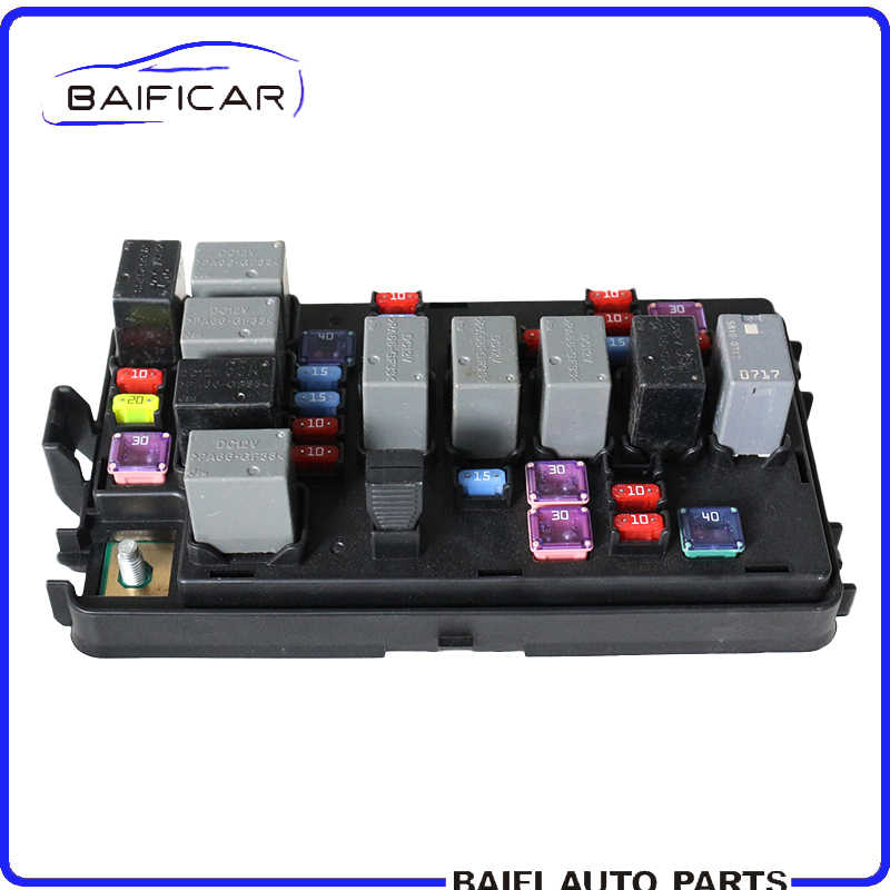 baificar brand new genuine high quality fuse box assembly engine relay box  96838986 for chevrolet lova