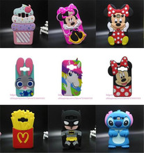 Phone case For Samsung Galaxy J1 J100 3D cartoon soft silicone cover For Samsung Galaxy Core