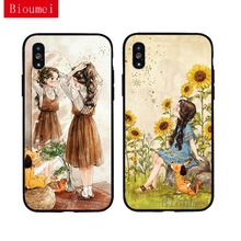 iwalk bcm002ih fashion mirror design protective plastic back case for iphone 5 black Bioumei single girl fashion black Soft TPU Case for iphone XR XS Max iphone 6 6S 7 8 Plus 5 Back Cover Case for X 12