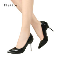 Brand Shoes Woman High Heels Pumps Nude High Heels 10 CM Women Shoes High Heels Wedding Shoes Pumps Blue Shoes Heels F1107 6