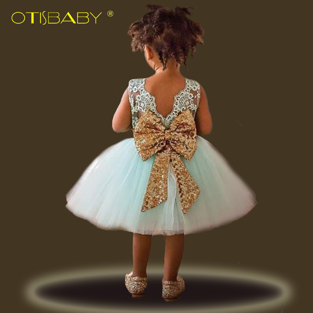 1 Year Birthday Dresses Baby Girls Lace Clothing Gowns Big Bow Newborn Infant Flower Girl Tutu Dress for Wedding Birthday Party 2016 new style kids infant baby girl flower girl dress for wedding girls party dress with big bow lace dress for 3 8years