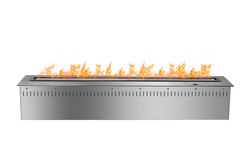 48 Inch Remote Control Silver Bio Etanol Electric Heater Fireplace  Fireplace Heater Insert