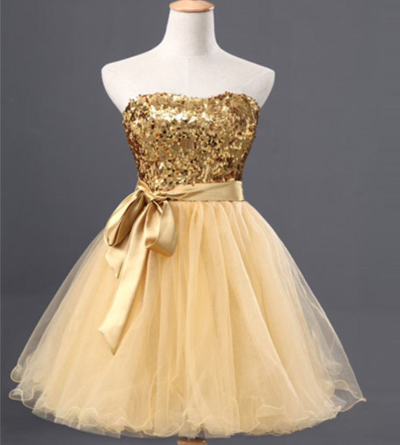 Popular Gold Sequin Cocktail Dress-Buy Cheap Gold Sequin Cocktail ...