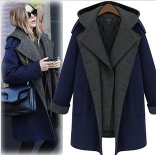 92465b0c2 Coats Nibbuns Woolen Coat Women's Designer Wool Coat Korean Female ...