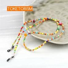 Toketorism fashion acrylic eyeglass cord sunglasses neck women reading glasses rope TM15