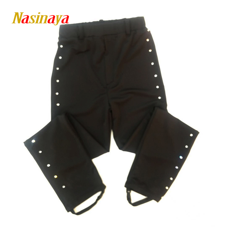 Customized Clothes Ice Skating Costume Figure Skating Pants Boys Man Trousers Adult Child Girl Rhinestones Polyamide FibreCustomized Clothes Ice Skating Costume Figure Skating Pants Boys Man Trousers Adult Child Girl Rhinestones Polyamide Fibre