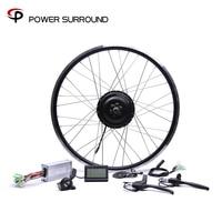 2019 Rushed 48v500w Bafang Cst Rear Cassette Electric Bike Conversion Kit Brushless Hub Motors 20'' 26'' 28''diy Motor Wheel