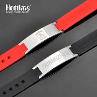 Hottime Mouse Hand Magnetic Bead Antifatigue Silicone Bio Health Benifits Tourmaline Fashion Energy Bracelets Bangles