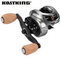 KastKing Bassinator Elite Baitcasting Fishing Reel 8kg Drag 10+1 BBs Carp Fishing Reel Magnetic And Centrifugal Dual Brake