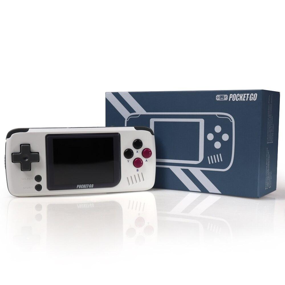 Console de jeu vidéo-PocketGO-Portable Portable rétro joueurs de jeu progrès enregistrer/charger carte MicroSD externe coloré écran - 4