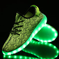 LED Light Up Shoes for Adults 2017 New Fashion Colorful Luminous Shoes with USB Rechargeable Lumineuse Men Glowing Shoes 8