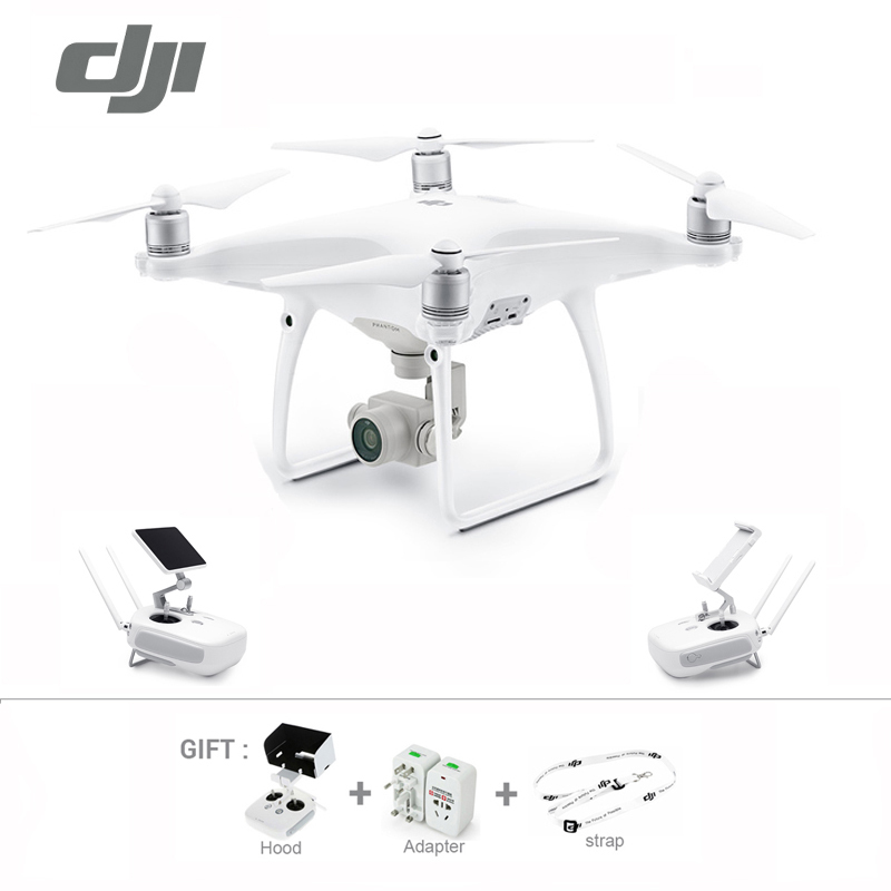 2017 In stock original newest DJI phantom 4 Advanced Drone with 4K video 1080p camera rc helicopter P4A drone Freeshipping DJI Phantom