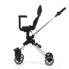 лучшая цена High landscape baby trolley portable folding child two-way baby stroller four-wheel shock absorber travel artifact baby carriage