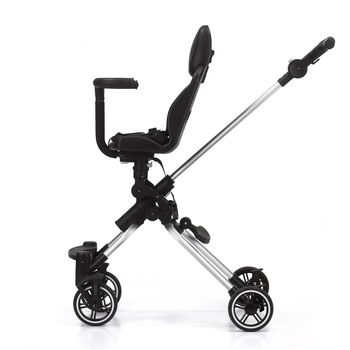 цена на High landscape baby trolley portable folding child two-way baby stroller four-wheel shock absorber travel artifact baby carriage