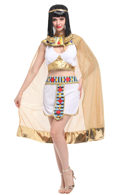 Sexy Ladies Fancy Dress Cleopatra Egypt Women Costume Egyptian Goddess Costume Egypt Queen Cosplay Halloween Stage Costume