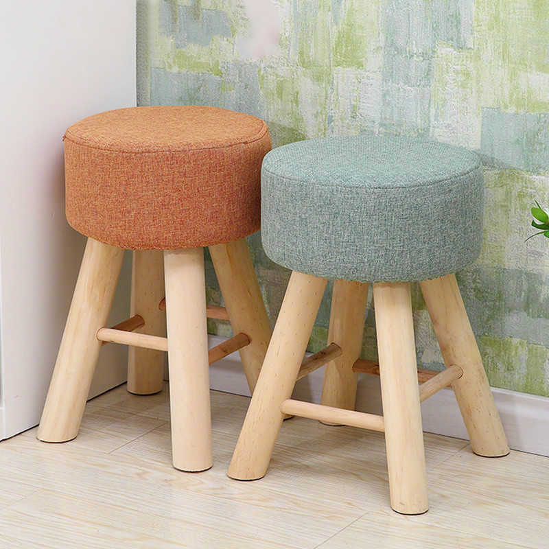 Wondrous Wooden Small Round Stools Fashion Home Fabrics Living Room Alphanode Cool Chair Designs And Ideas Alphanodeonline