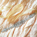 TOPQUEEN S123 Free Shipping Charming Wedding Bridal Belt Shinny Crystal Rhinestone Bridal Sash Wedding Bridal Accesories