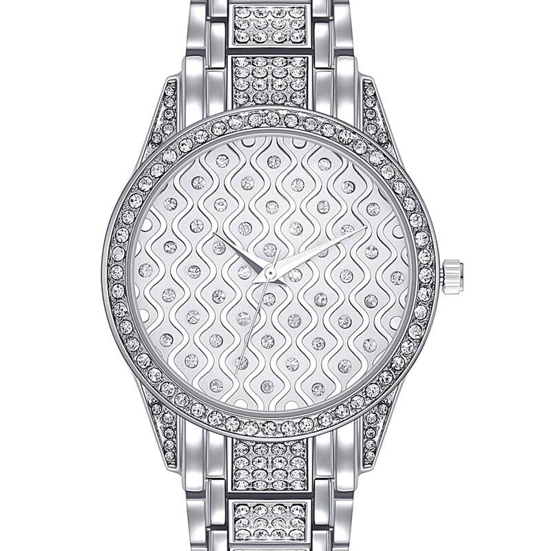 Original Bussiness Quartz Watch Famous Brand Bu Diamond Watch Stainless Steel Timepiece Women Golden Clock Ladies Designer Watch