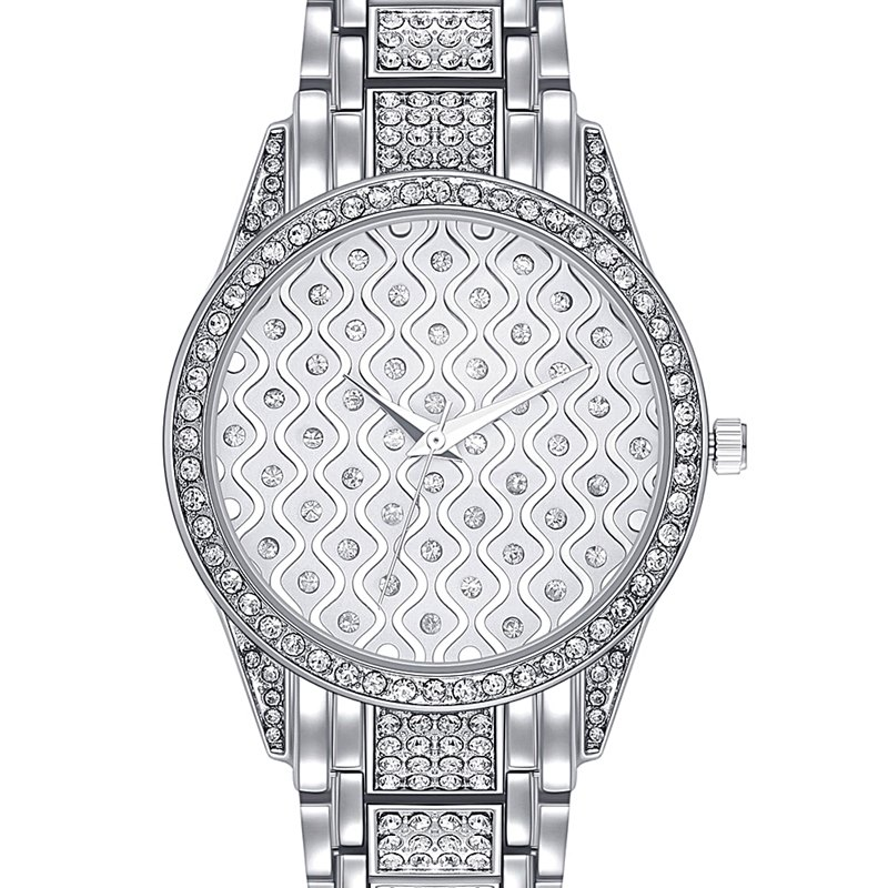 Original Bussiness Quartz <font><b>Watch</b></font> Famous Brand <font><b>Bu</b></font> Diamond <font><b>Watch</b></font> Stainless Steel Timepiece Women Golden Clock Ladies Designer <font><b>Watch</b></font> image
