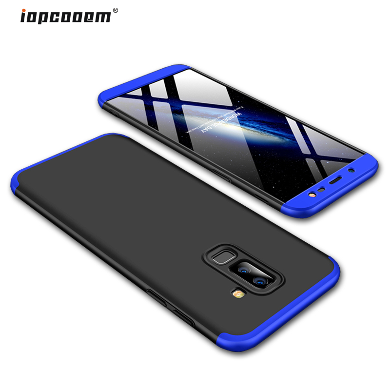 Phone Full Fundas Case Cover 360 Slim Hard Protection J8 Cases For Galaxy Back Shockproof 2018 Samsung Coque