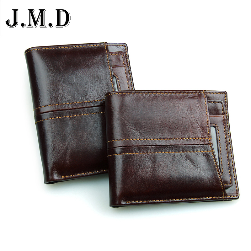 2016 Hot Vintage men wallets Bifold Wallet ID Card holder Coin Purse Pockets Clutch with Removable card bit Gift