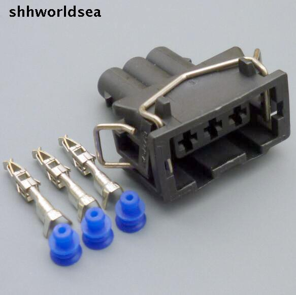 Shhworldsea 4/10/50/1003 Pin Путь автомобиля водонепроницаемый кабельный разъем автоматические электрические Вие Разъем гнездо 357 972 753 357972753