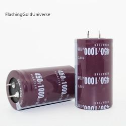 12PCS--2PCS จัดส่งฟรี electrolytic capacitors 1000 UF 450 V 450 V 1000 UF 450v1000uf 1000uf450v 35X50 มม. ที่ดีที่สุดคุณภาพ