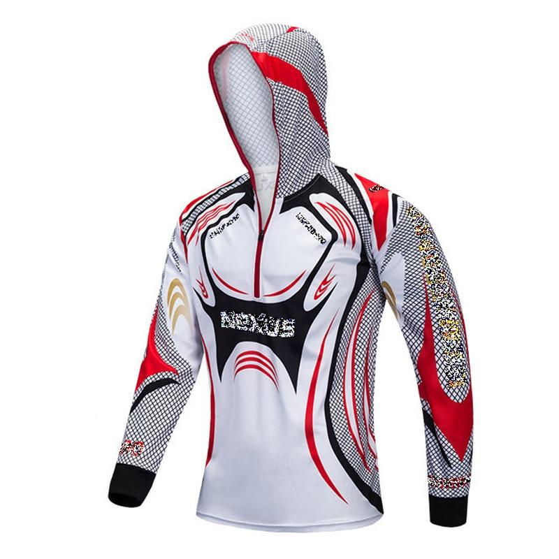 camisa de pesca com bone roupas de pesca anti uv protecao jersei pesca tackles esportes ao