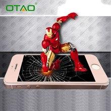 Полное Покрытие Закаленное Стекло Защитная Пленка Для Apple iPhone 5 5S 5C SE 2.5D 4 дюймов 0.33 мм 9 H Царапинам Черный Белое Золото
