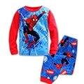 Осень детские Пижамы Новые дети с длинным рукавом loungewear брючный костюм мальчиков и девочек мультфильм повседневная детская одежда наборы