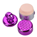 3D Electric Puff +80pcs Cotton Smart Foundation Face Powder Electric Vibrating Puff Device Sponge Cosmetic Beauty Spa Tool