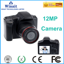 "free shipping 12mp dslr similar camera digital with 2.8"" TFT display and 4x digital zoom camera  with 4gb sd card"