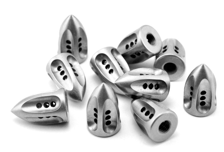 Microtec Bowie Tail cone screw rivet 416 steel DIY folding knife EDC 1 piece price