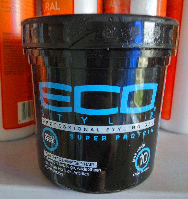 Hair Styler Styling Gel oz 16 Super Protein Eco styling hair gel 473ml