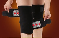 5Pairs/Pack Tourmaline belt self heating knee pad Magnetic Therapy knee support tourmaline heating Belt knee Massager
