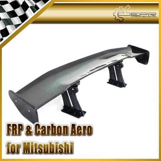 Accessoires Auto pour Evolution EVO 7 8 9 Fibre de carbone VRS Style GT becquet Fibre brillante coffre arrière aile course Kit carrosserie Auto