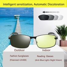 Transition Photochromic Gaming Glasses Polarized SunGlasses Filter Computer Blocking Anti Blue Light Eye Eyestrain Women Men 2