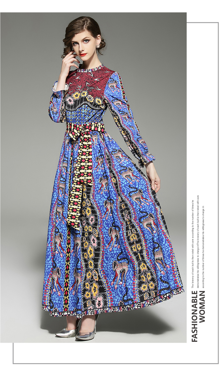 eef802714142b Zarachiel Summer 2019 Designer Runway Maxi Dress Plus Size Women's ...
