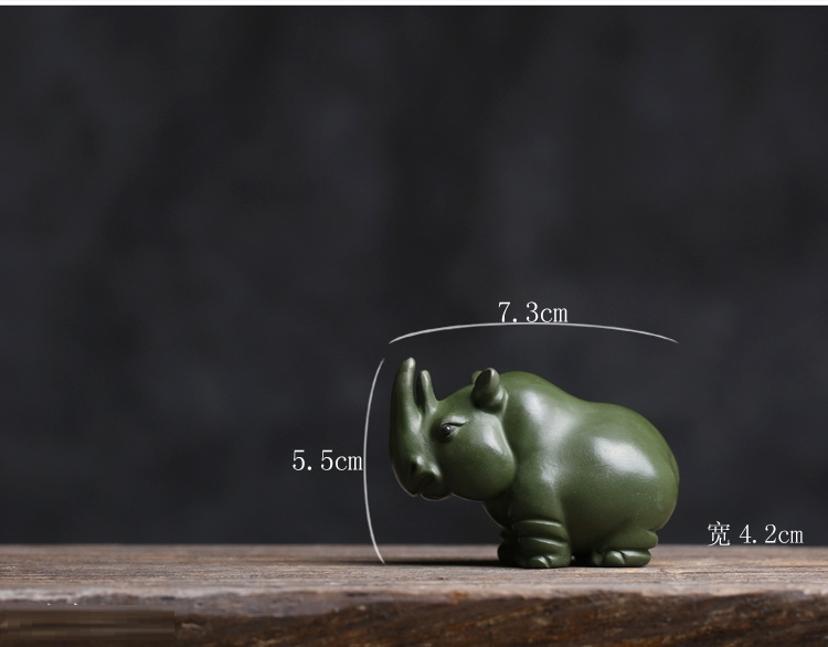Pure hand purple sand river horse tea pet Ornaments boutique Yixing tea pet ornaments