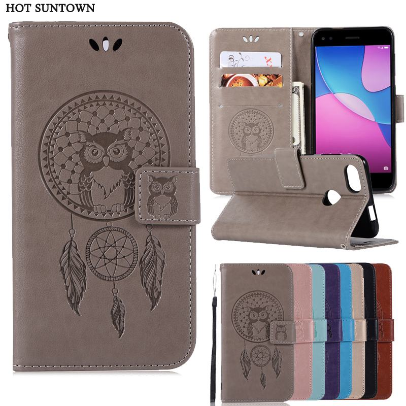 Flip Case For Huawei Y6 pro 2017 Case Luxury PU Leather Wallet Phone Bags Cases For Huawei Y6 Pro 2017 5.0 inch Fundas Coque