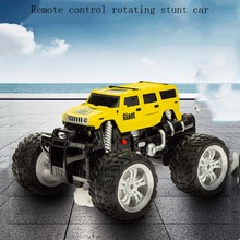 Off-Road Big Foot Charging Remote Control Racing 360 Rotating Stunt Drift Off-Road Vehicle Children RC Electric Toy Model