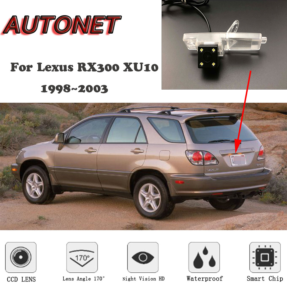 AUTONET Backup Rear View camera For <font><b>Lexus</b></font> <font><b>RX300</b></font> XU10 <font><b>1998</b></font>~<font><b>2003</b></font> CCD/HD Night Vision /license plate camera image