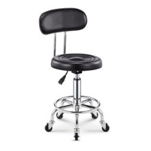 2018 Adjustable Barber Chairs Hydraulic Rolling Swivel Stool Chair Salon Spa Bar cafe Tattoo Facial Massage Salon Furniture(China)