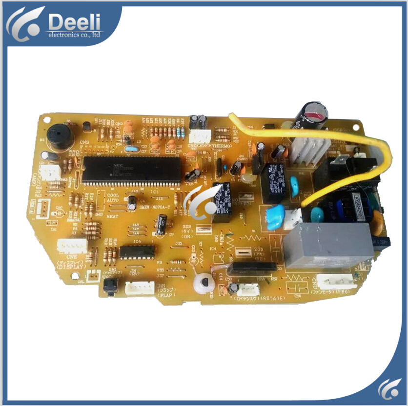 95% new Original for Mitsubishi air conditioning Computer board RYD505A041 circuit board wire universal board computer board six lines 0040400256 0040400257 used disassemble