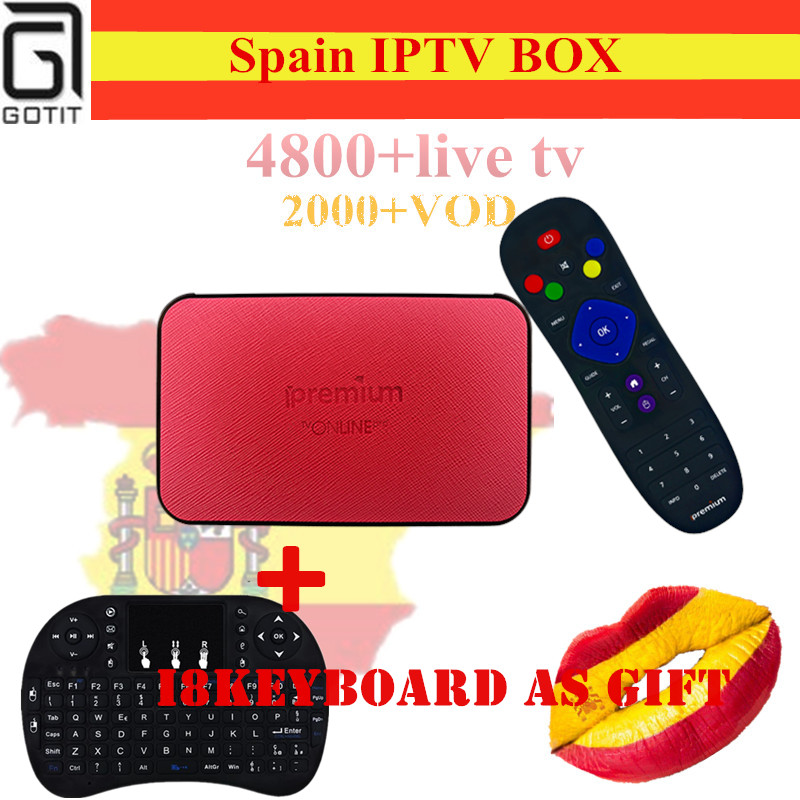 Spian Smart TV Box Ipremium TVONLINE Pro+ Pro IPTV Box H.265 4K UHD Israel Russian Europe USA  4800+Channels KO Mag254 TV Box роутер билайн smart box one