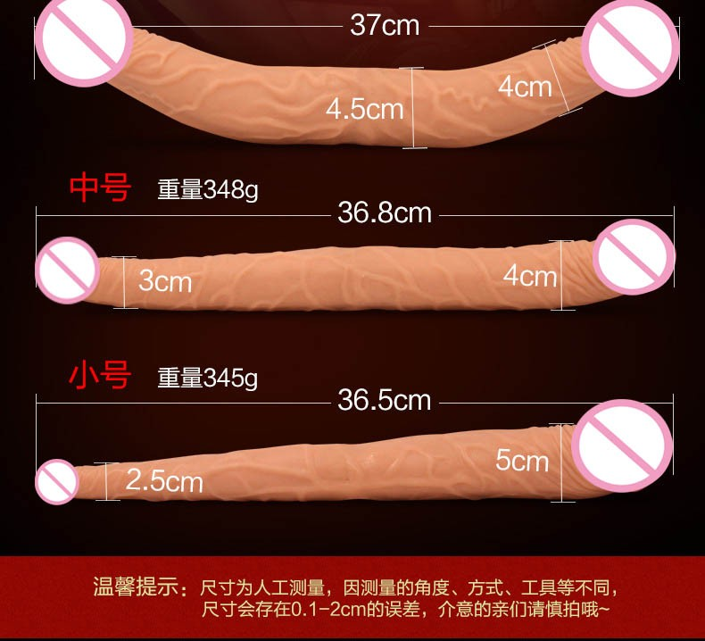 long big double ended dildo woman lesbian dual dong penetration dildos artificial realistic fake penis for women gay sex toys 4